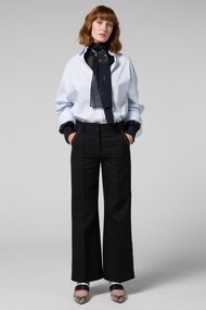 Dorothee Schumacher Tailored Structured Cropped Straight Pants