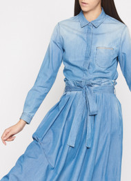 Fabiana Filippi Chambray Button Down Blouse