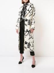 Adam Lippes Printed Cocoon Coat