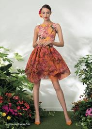 Chiara Boni La Petite Robe Arynn Organza Dress