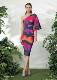 Chiara Boni La Petite Robe Fizzah Print Dress