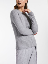Max Mara Ceylon Light Grey Sweater