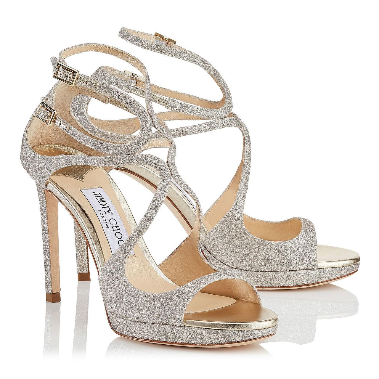 3e8db21d9a40 Jimmy Choo Lance Silver Sandal (Lance - Silver)