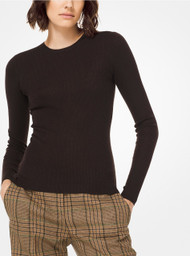 Michael Kors Featherweight Cashmere Long Sleeve