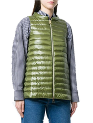 Herno Green Classic Fitted Vest