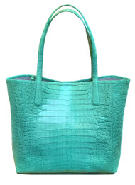 Nancy Gonzalez Crocodile Menta Tote