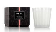 NEST Rose Noir & Oud 3-Wick Candle