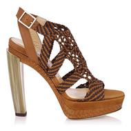 Jimmy Choo Taytum Woven Platform Sandal