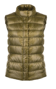 "Herno Iconico ""Guilia"" Quilted Puffer Vest"