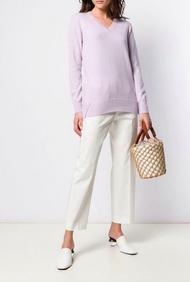 Agnona Lilac Cashmere Sweater