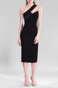 Cushnie Black Lilia Dress