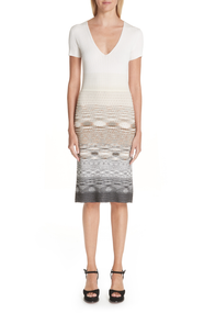 Missoni Ivory Knit Dress