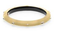 Alexis Bittar Studded Hinge Bracelet Gold