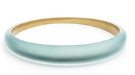Alexis Bittar Tapered Bangle Blue Grey