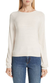 CO Ivory Cashmere Raglan Sweater