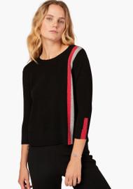 JED Intarsia Sideline Stripe Sweater