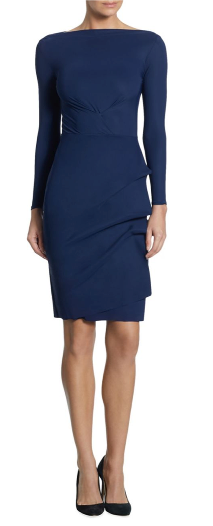 3d495555 Chiara Boni La Petite Robe BluNotte Cassandre Dress (CASSANDRE ...