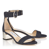 Jimmy Choo Jaimie 40 Denim Sandal