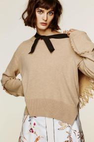 Dorothee Schumacher Wavy Vision Cashmere Sweater