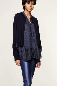 Dorothee Schumacher Stripe Sensation Cardigan