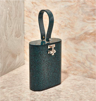 Edie Parker Oval Bag in Storm Glitter