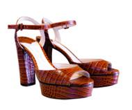 Jimmy Choo Peachy 105 Platform Sandal