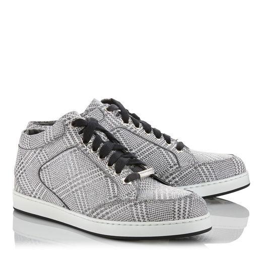 Jimmy Choo Miami Glitter Sneaker