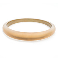Alexis Bittar Skinny Tapered Bangle Gold