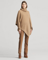 Ralph Lauren Collection Waffle-Knit Cashmere Poncho
