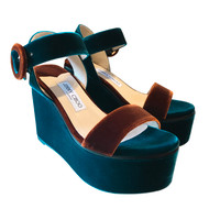 Jimmy Choo Abigail 100 Wedges                                                       *Exclusive to Augustina's Designer Boutique*