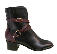 Jimmy Choo Harker Leather Buckle Boots *Exclusive to Augustina's Designer Boutique*