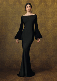 Chiara Boni La Petite Robe Jitka Velvet Gown