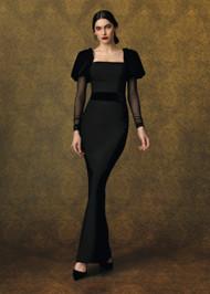 Chiara Boni La Petite Robe Ilde Velvet Gown