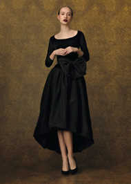 Chiara Boni La Petite Robe Doha Velvet Midi
