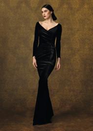 Chiara Boni La Petite Robe Silveria Velvet Long