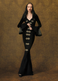 Chiara Boni La Petite Robe Sims Illusion Gown
