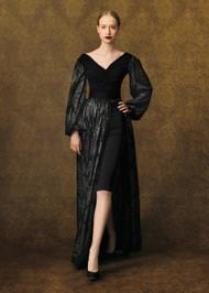 Chiara Boni La Petite Robe Millicent Sequins Illusion Gown
