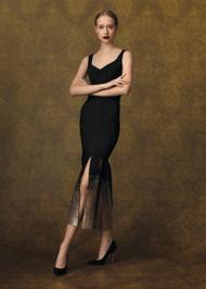 Chiara Boni La Petite Robe Dian Gold Midi