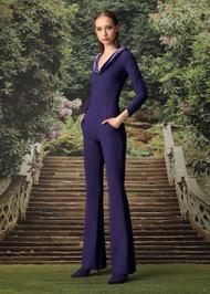 Chiara Boni La Petite Robe Ghania Velvet Jumpsuit