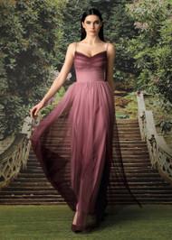 Chiara Boni La Petite Robe Criss Ombre Illusion Gown