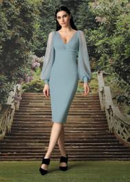 Chiara Boni La Petite Robe Perlita Illusion Dress
