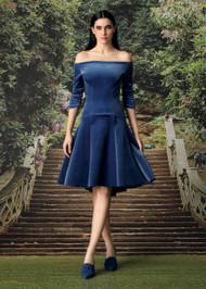 Chiara Boni La Petite Robe Koko Velvet Cocktail Dress