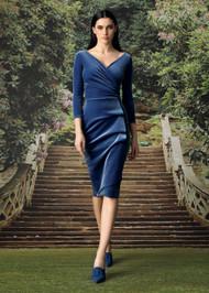 Chiara Boni La Petite Robe Florien Velvet Cocktail Dress