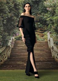 Chiara Boni La Petite Robe Nerezza Net Gown