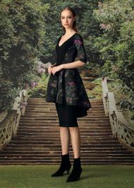 Chiara Boni La Petite Robe Ryan Dress in Brocade Verde