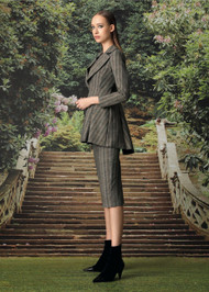 Chiara Boni La Petite Robe Michelle Jacket in Herringbone