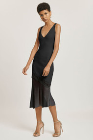 Cushnie Asymmetric Jersey Dress