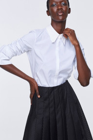 Dorothee Schumacher Patched Perfection Button Up Blouse