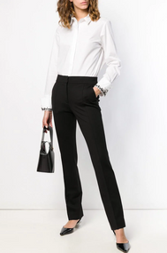 Dorothee Schumacher Emotional Essence Slim Pants in Pure Black