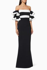 Chiara Boni La Petite Robe Couture Parvati Bic Gown (Size 44)
